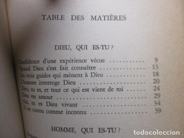 Libros antiguos: DANS LA NUIT JAI CHERCHE - de LOEW, Jacques (EN FRANCES) - Foto 6 - 162404910