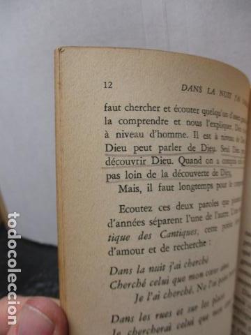 Libros antiguos: DANS LA NUIT JAI CHERCHE - de LOEW, Jacques (EN FRANCES) - Foto 11 - 162404910
