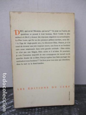 Libros antiguos: DANS LA NUIT JAI CHERCHE - de LOEW, Jacques (EN FRANCES) - Foto 14 - 162404910