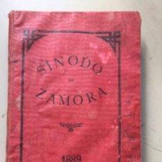 Libros antiguos: SÍNODO DE ZAMORA 1889. Lote 162447482