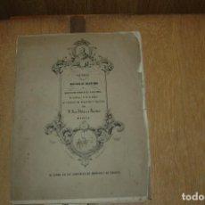 Libros antiguos: LIBRO PARTIDA DE BAUTISMO MIGUEL DE CERVANTES SAAVEDRA, AÑO 1852 FASCIMIL BUEN ESTADO VER FOTOS. Lote 162480098