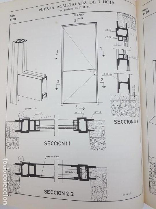 Libros antiguos: CARPINTERIA METÁLICA ( P. VIGLA 1972 ) - Foto 3 - 162594690