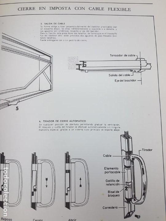 Libros antiguos: CARPINTERIA METÁLICA ( P. VIGLA 1972 ) - Foto 5 - 162594690