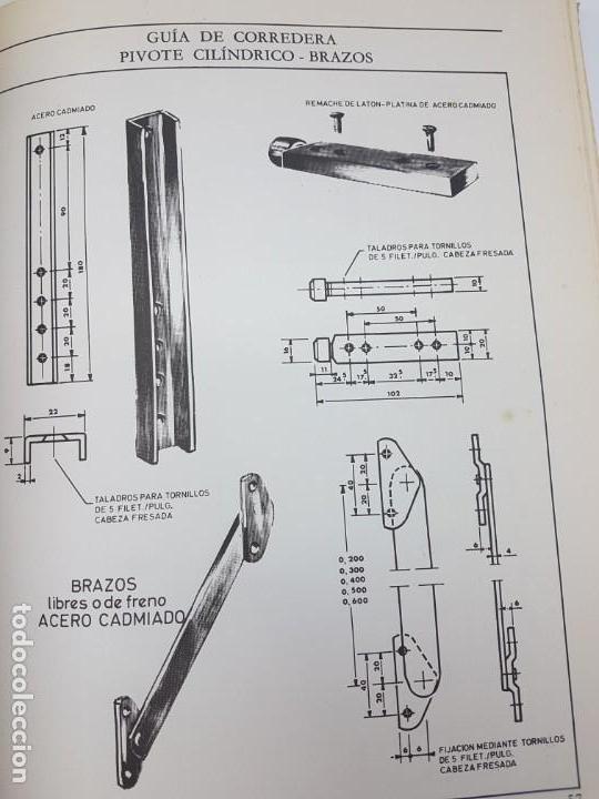 Libros antiguos: CARPINTERIA METÁLICA ( P. VIGLA 1972 ) - Foto 6 - 162594690