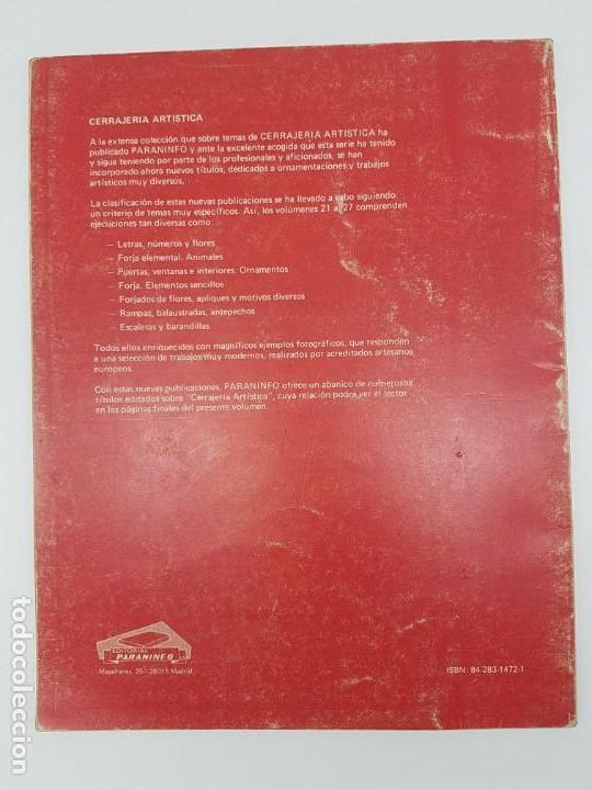 Libros antiguos: CERRAJERIA ARTÍSTICA, LETRAS, NÚMEROS Y FLORES ( F. WOLF 1986 ) ÚNICO EN TC - Foto 2 - 162595974