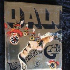 Libros antiguos: DALI - LES DINERS DE GALA - 1974 - LABOR - MUY ILUSTRADO. Lote 162683398