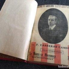 Libros antiguos: HISTORIA DE CATALUNYA - LA NOVEL·LA HISTÒRICA - SERIE COMPLETA (1916-1917). Lote 162768314