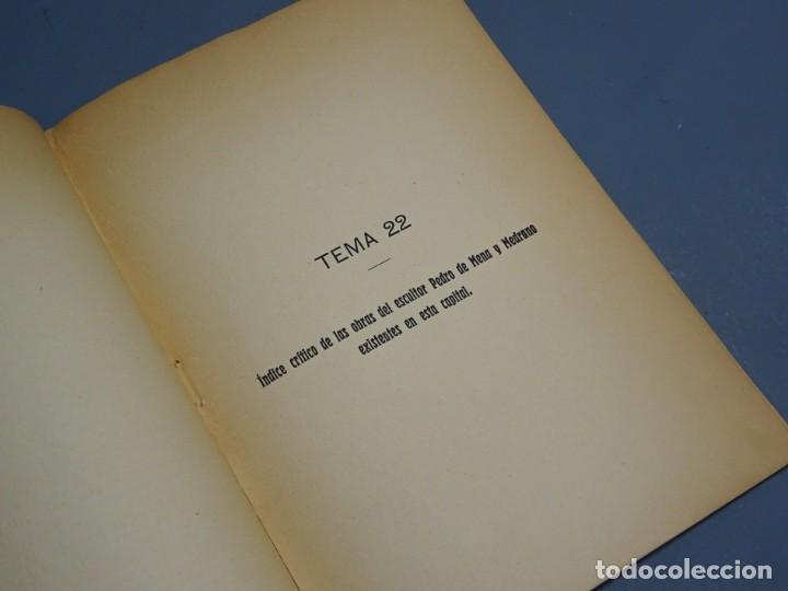 Libros antiguos: ÍNDICE CRÍTICO DE LAS OBRAS DEL ESCULTOR PEDRO DE MENA Y MEDRANO EN MÁLAGA-F. DE P.L. LA VEGA-1910 - Foto 4 - 162874606