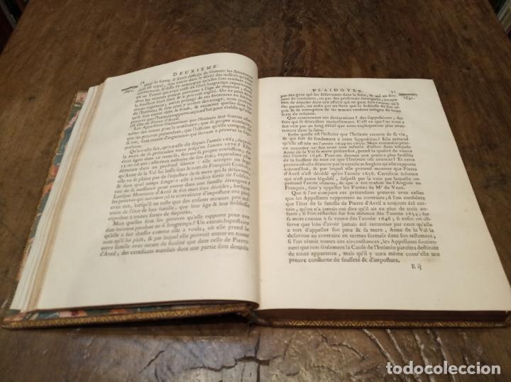 Libros antiguos: Oeuvres de M. le Chancelier DAguesseau. Tome second. A París. Chez les libraires associés. 1761. - Foto 12 - 162901186