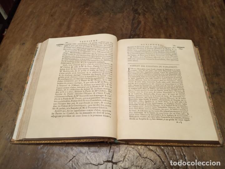 Libros antiguos: Oeuvres de M. le Chancelier DAguesseau. Tome second. A París. Chez les libraires associés. 1761. - Foto 13 - 162901186