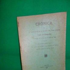 Libros antiguos: CRÓNICA DEL 3ER CENTENARIO DE LA MUERTE DEL GRAN ARTISTA PABLO DE CÉSPEDES, CÓRDOBA, 1909. Lote 162962778