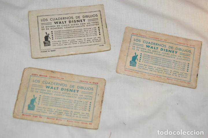 Libros antiguos: LOTE DE 3 CUADERNOS DE DIBUJOS WALT DISNEY - Nº 13, 15 Y 18 - EDITORIAL MOLINO - VINTAGE - Foto 5 - 162966602