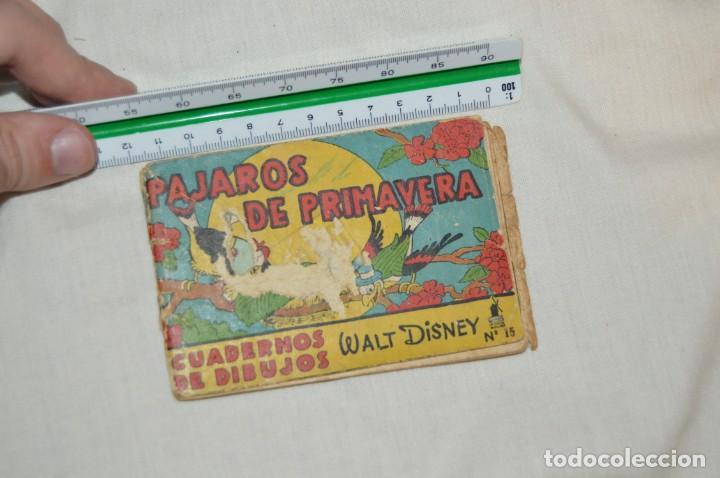 Libros antiguos: LOTE DE 3 CUADERNOS DE DIBUJOS WALT DISNEY - Nº 13, 15 Y 18 - EDITORIAL MOLINO - VINTAGE - Foto 10 - 162966602