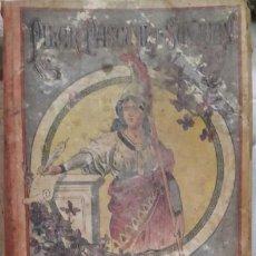 Libros antiguos: LIBRO MANUAL EPISTOLER PARA SEÑORITAS, LIMPIA, FIJA Y DE ESPLENDOR, DE PILAR PASCUAL, 1870. Lote 162991290