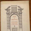 Libros antiguos: AIX EN PROVENCE-JARDIN DE FLOR(13€). Lote 163084634