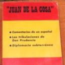 Libros antiguos: JUAN DE LA COSA-FUERZA NUEVA EDITORIAL(19€). Lote 163106790