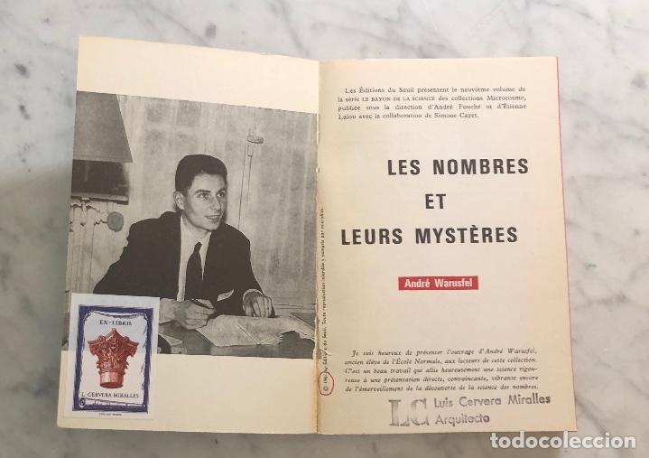 Libros antiguos: LES NOMBRES ET LEURS MYSTERES-La Rayon de la Science(25€) - Foto 2 - 163108962
