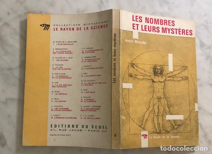 Libros antiguos: LES NOMBRES ET LEURS MYSTERES-La Rayon de la Science(25€) - Foto 6 - 163108962