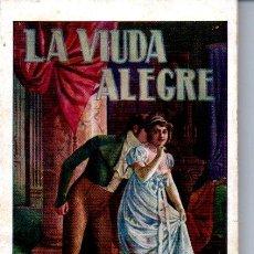 Libros antiguos: ZAMACOIS : LA VIUDA ALEGRE (SOPENA, C. 1930). Lote 163341202