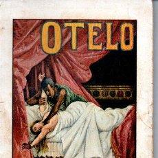 Libros antiguos: NÚÑEZ DE PRADO : OTELO (SOPENA, C. 1930). Lote 163341294