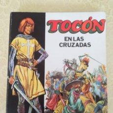 Libros antiguos: TOCON EN LAS CRUZADAS DE ALDO BERTI, EDAF EDICIONES 1976. Lote 163428970