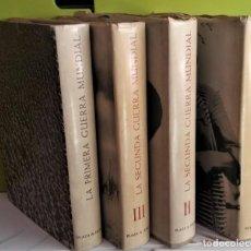 Libros antiguos: LA SEGUNDA GUERRA MUNDIAL EN FOTOGRAFIAS Y DOCUMENTOS - 3 TOMOS + LOS ÚLTIMOS 100 DIAS - COMPLETA. Lote 163445222