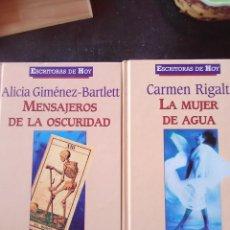 Livres anciens: 2LIBROS DE LA COLECCIÓN ESCRITORAS DE HOY. Lote 163484950