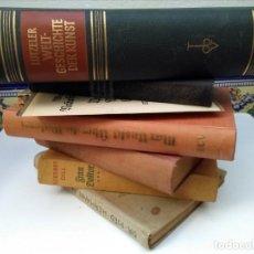 Libros antiguos: LOTE DE LIBROS ANTIGUOS ALEMANES. Lote 163555038