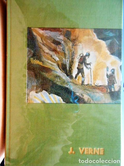 OBRAS DE JULIO VERNE. VERGARA 1961. TAPA DURA. 1054 PÁGINAS. (Libros antiguos (hasta 1936), raros y curiosos - Literatura - Narrativa - Otros)