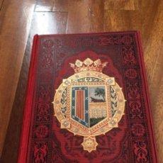 Libros antiguos: ESPAÑA SUS MONUMENTOS Y ARTES - SU NATURALEZA E HISTORIA, SALAMANCA, ÁVILA Y SEGOVIA. QUADRADO. Lote 163592606