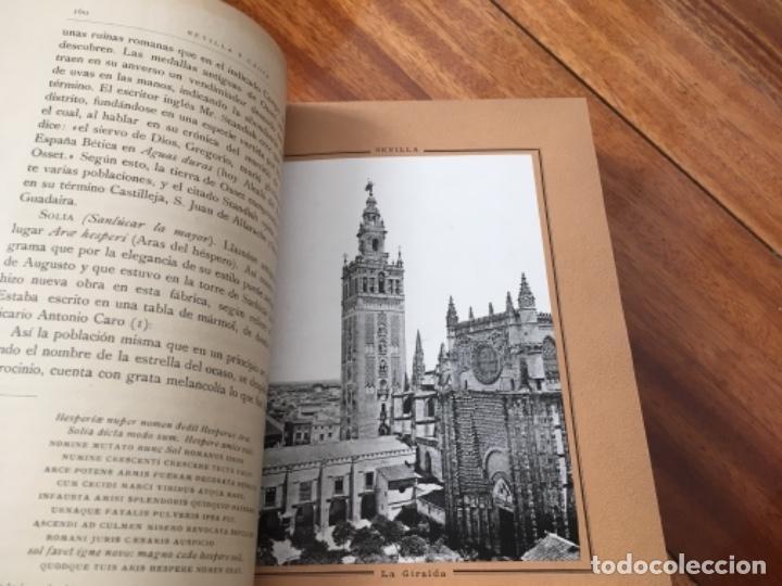 Libros antiguos: ESPAÑA. SUS MONUMENTOS Y ARTES- SU NATURALEZA E HISTORIA. SEVILLA Y CÁDIZ POR D. PEDRO DE MADRAZO - Foto 6 - 163599074