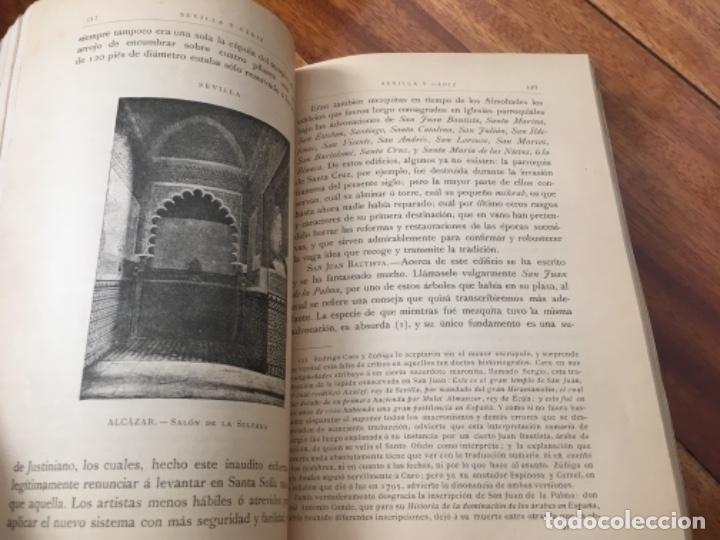 Libros antiguos: ESPAÑA. SUS MONUMENTOS Y ARTES- SU NATURALEZA E HISTORIA. SEVILLA Y CÁDIZ POR D. PEDRO DE MADRAZO - Foto 7 - 163599074
