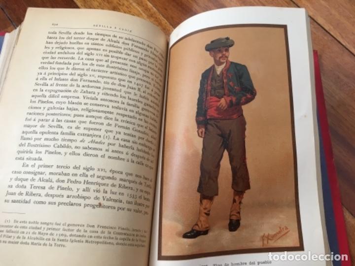 Libros antiguos: ESPAÑA. SUS MONUMENTOS Y ARTES- SU NATURALEZA E HISTORIA. SEVILLA Y CÁDIZ POR D. PEDRO DE MADRAZO - Foto 8 - 163599074