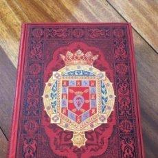 Libros antiguos: ESPAÑA. SUS MONUMENTOS Y ARTES- SU NATURALEZA E HISTORIA. MURCIA Y ALBACETE. R. AMADOR DE LOS RÍOS. Lote 163600002