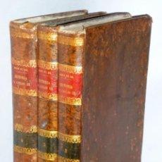 Libros antiguos: HISTORIA DEL REINADO DE CARLOS III EN ESPAÑA. TOMOS II, III Y IV. Lote 163632378