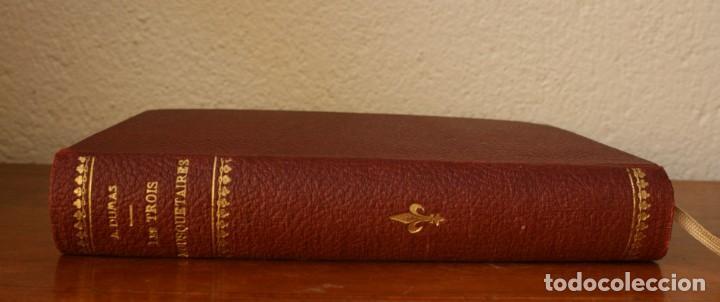 ANTIGUO LIBRO IGNORO AÑO: LES TROIS MOUSQUETAIRES A. DUMAS – LOS TRES MOSQUETEROS - RARA EDICION (Libros Antiguos, Raros y Curiosos - Otros Idiomas)