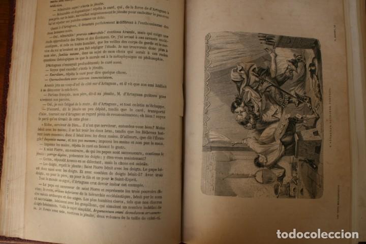 Libros antiguos: ANTIGUO LIBRO IGNORO AÑO: LES TROIS MOUSQUETAIRES A. DUMAS – LOS TRES MOSQUETEROS - RARA EDICION - Foto 10 - 163740930