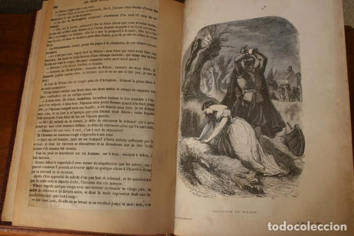 Libros antiguos: ANTIGUO LIBRO IGNORO AÑO: LES TROIS MOUSQUETAIRES A. DUMAS – LOS TRES MOSQUETEROS - RARA EDICION - Foto 11 - 163740930