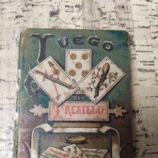 Alte Bücher - Libro manual de como jugar al Juego del Tresillo 1902 - 163742226