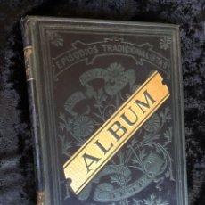 Libros antiguos: ALBUM DE PERSONAJES CARLISTAS CON SUS BIOGRAFIAS. Lote 163744444