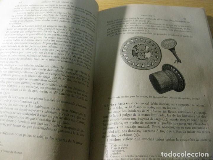 Libros antiguos: historia de creencias supersticiones usos y costumbres . fernando nicolay . tomo 3 ed montaner 190 - Foto 6 - 163766310