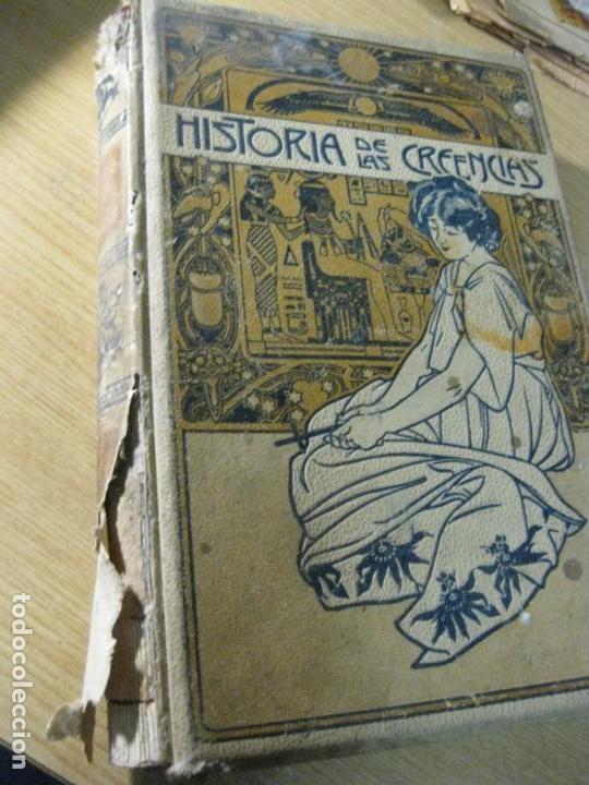 HISTORIA DE CREENCIAS SUPERSTICIONES USOS Y COSTUMBRES . FERNANDO NICOLAY . TOMO 3 ED MONTANER 190 (Libros Antiguos, Raros y Curiosos - Historia - Otros)