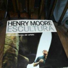 Libros antiguos: HENRY MOORE ESCULTURAS . Lote 163772818