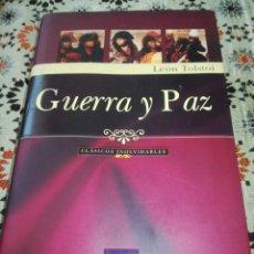 Libros antiguos: GUERRA Y PAZ, LEÓN TOLSTOI. Lote 214299226