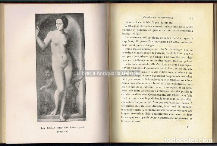 Libros antiguos: [Mujeres. Paris, S.XX] Péladan, Sar. L'Art de choisir sa femme d'après la physionomie... - Foto 2 - 163860574