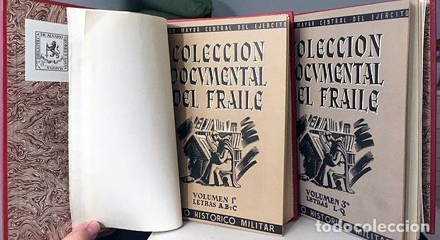 COLECCIÓN DOCUMENTAL DEL FRAILE (4 VOLÚMENES EN 2 TOMOS, COMPLETO) GUERRA INDEPENDENCIA. PROCLAMAS (Libros Antiguos, Raros y Curiosos - Historia - Otros)