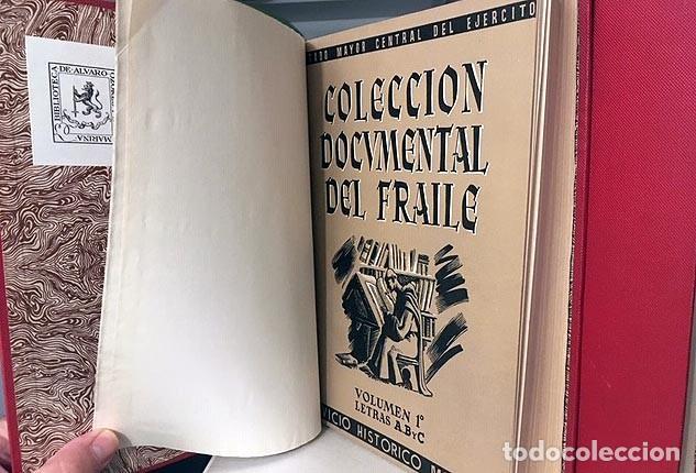 Libros antiguos: Colección Documental del Fraile (4 volúmenes en 2 tomos, Completo) Guerra Independencia. Proclamas - Foto 3 - 163936434
