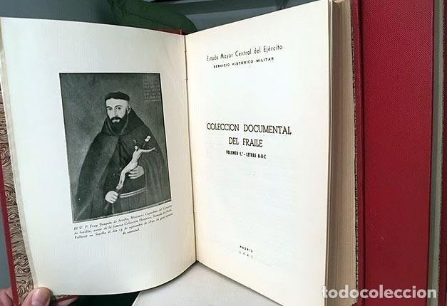 Libros antiguos: Colección Documental del Fraile (4 volúmenes en 2 tomos, Completo) Guerra Independencia. Proclamas - Foto 5 - 163936434