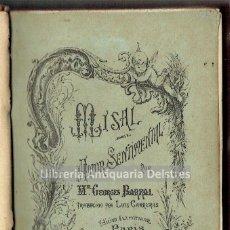 Libros antiguos: [MUJERES. BREVIARIO. PARIS, 1885] BARRAL, GEORGES. MISAL DEL AMOR SENTIMENTAL. . Lote 163967318
