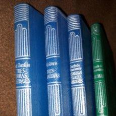 Livres anciens: LOTE DE 4 LIBRITOS COLECCION CRISOL DE AGUILAR. Lote 164083050
